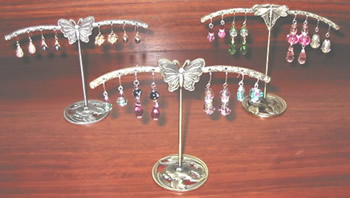 Showcase your favourite earrings with these inspiring earring trees!