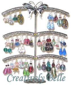 Click here to see our range of useful and beautiful earrings stands