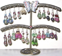 This Earring Holder Carries 20+ Pairs of Earrings!