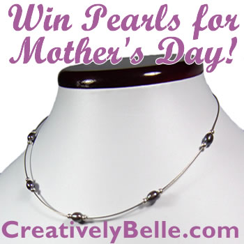 Pearl jewellery makes great Mother's Day gift ideas so we're giving away freshwater peal necklaces in our jewellery online competition
