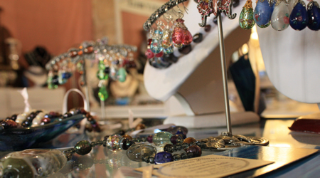 Beautiful Creatively Belle jewellery at Pop Up Project