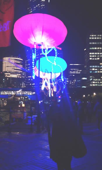 Vivid lights up Sydney - light festivals we love!