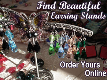 Click here to see our range of jewellery display stands, including earring holders