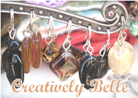 Brown drop earrings at Creatively Belle at the Rocks Markets