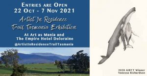 Entries are Open for the Artist in Residence Trail Tasmania (AIRTT) Exhibition 2021
