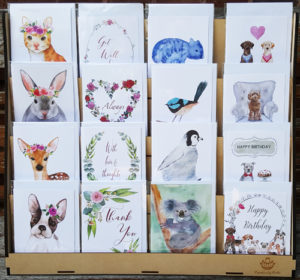 Creatively Belle greeting card display stand