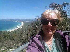 Belinda at Disaster Bay Lookout