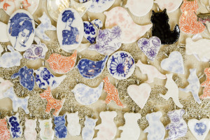 Creatively Belle ceramic necklaces and brooches to be found at The Rocks Markets, Sydney