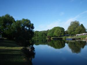 The home river for Della the Platypus