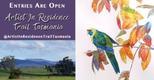 Entries are open for the Artist in Residence Trail Tasmania Exhibition
