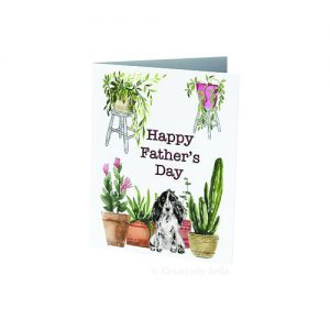 Gardening dad's Happy Father's Day greeting card