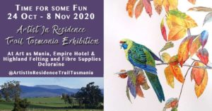 Have Fun at the Artist in Residence Trail Tasmania Exhibition