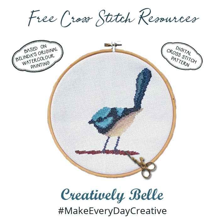 Free Cross Stitch Resources for Creatively Belle Digital Cross Stitch Patterns
