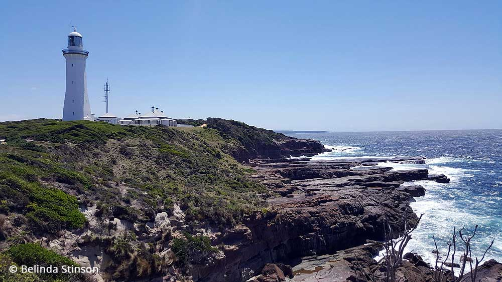 Green Cape Lighthouse by Belinda Stinson