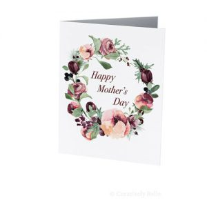 Happy Mother's Day Roses greeting card