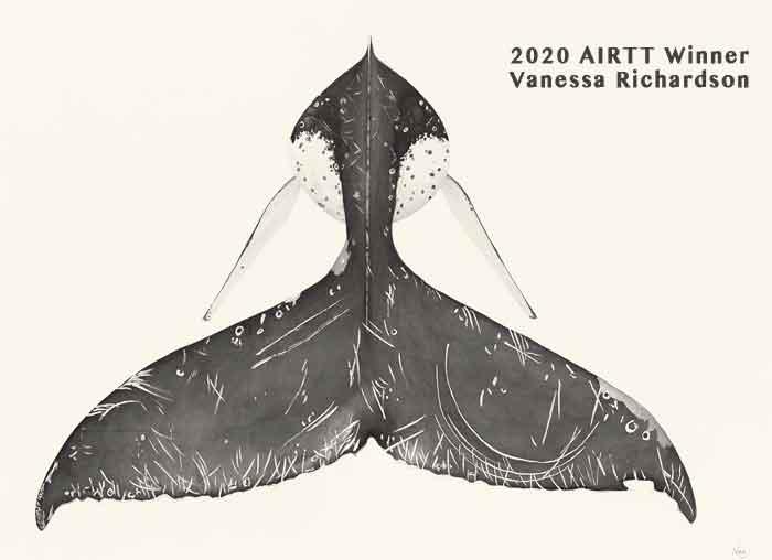 Vanessa Richardson Award Winning Tasmanian Wildlife Artist Winner of the 2020 Artist In Residence Trail Tasmania Exhibition