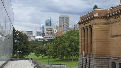 Views from the Art Gallery of NSW - 5 must do things in Sydney