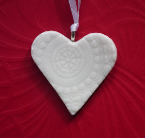 Ideal client gifts with artisan heart pendants