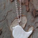 Hand craft porcelain necklace