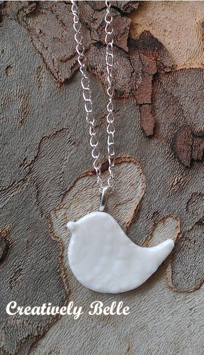 Hand craft porcelain necklace