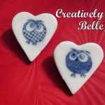 Cheeky Owl brooches by Creatively Belle