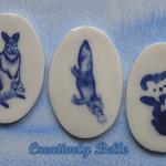 Unique Australian animals - kangaroo, platypus and koala pins and brooches