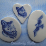 Delft Blue and White Inspired Pins