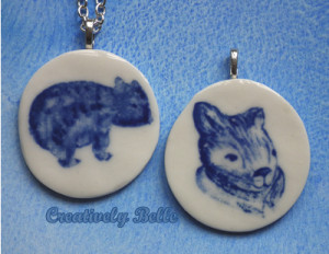 Both Wombats by Belinda of Creatively Belle