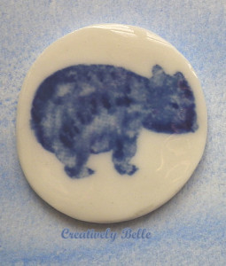 Maria the Wombat by Creatively Belle at The Rocks Markets