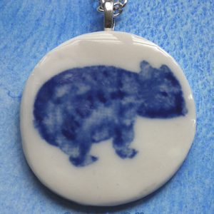 Maria the Wombat Necklace by Creatively Belle
