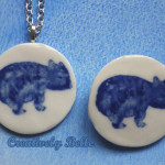 Maria the Wombat in Necklaces and Pins by Creatively Belle
