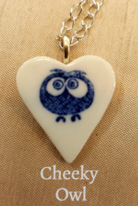 The popular Cheeky Owl necklace by Creatively Belle