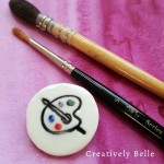 Artist inspiration with this Creatively Belle artist's palette