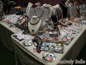 Creatively Belle stall at the Tasmanian Craft Fair