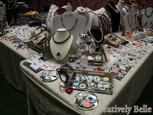 Creatively Belle stall at the Tasmanian Craft Fair