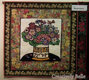 The quilt show at the Tasmanian Craft Fair