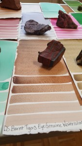 Watercolour paint is even made from Tigers Eye by Daniel Smith