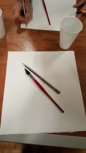 We started with blank paper