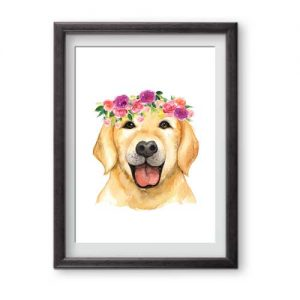 Ready for Framing Beautiful Labrador is perfect