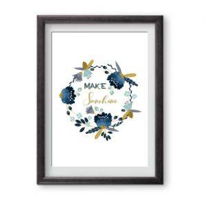 Make Sunshine print ready for framing celebrating International Women's Day IWD