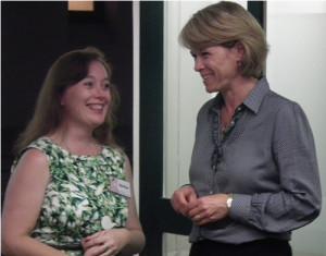 Belinda and Small Business Minister Katrina Hodgekinson
