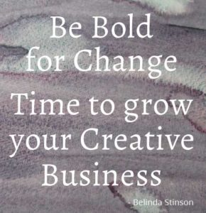 Time to grow your creative business be bold for change by Belinda Stinson of Creatively Belle Celebrating International Women's Day