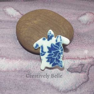 Turtle brooch ceramic jewellery by Creatively Belle at The Rocks Markets in Sydney
