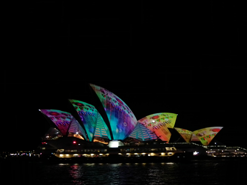VIVID Sydney impact on small local business