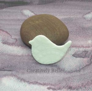 Peace Bird brooch for brooch addicts - ceramic jewellery by Creatively Belle at The Rocks Markets